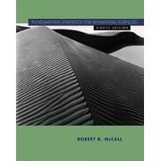 Fundamental Statistics for Behavioral Sciences by Robert B. McCall