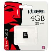 Kingston microSDHC 4GB (Class 4) (SDC4/4GBSP)