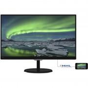 Monitor LED Philips 237E7QDSB/00 23 inch 5ms Black