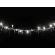 Kültéri fényfüzér 50 db LED fehér Jégcsap dekor 2,5m KLG 50