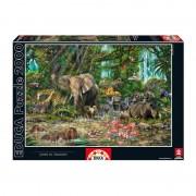 Educa Afrikai dzsungel puzzle, 2000 darabos