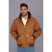 Carhartt Big & Tall QFL Duck Active Jacket Carhartt Brown