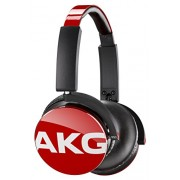 AKG Y50 closed type on-ear headphone DJ style red Y50RED