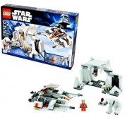 """Lego Star Wars Movie Series """"The Empire Strikes Back"""" Battle Pack Set # 8089 - HOTH WAMPA CAVE with Snowspeeder"""