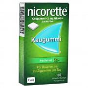 Nicorette 2mg freshmint Kaugummi 30 Stück