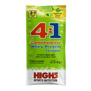 High5 4:1 Energy Source Citrus 47 g mit 1 Teil Molke Protein Mineraldrinks