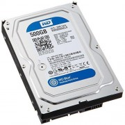 "HDD 3.5"", 500GB, WD Blue, 32MB Cache, SATA3 (WD5000AZLX)"