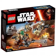 LEGO Star Wars - Rebel Alliance Battle Pack 75133 Features A Speeder Bike With 2 Seats For Mini figures Order Now! With E-book Gift@