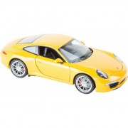Speelauto gele Porsche 911 Carrera S8591