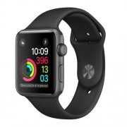 Apple Watch Series 1, 38mm Space Grey Aluminium Case with Black Sport Band