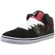 DVS APPAREL Torey - Zapatos de cuero para hombre, Negro (Noir (Black/Camo Canvas))