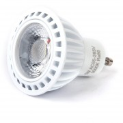 Generic Blanco Cálido GU10 5W COB LED Luz Bombillas Foco Bulbos Blanco COB LED Spotlight