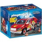 PLAYMOBIL Fire Chiefs Car with Lights & Sound Set