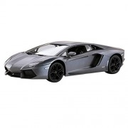 Licensed Rastar R/C Remote Control 1:14 Lamborghini Aventador Lp700 (Special Version) 43000 S Grey Car Model Toy Gift