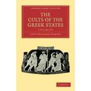 The Cults of the Greek States 5 Volume Paperback Set by Lewis Richard Farnell
