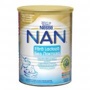 Lapte praf Nestle Nan fara lactoza 400g