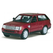 Playking Kinsmart Range Rover Sport - 5'' Die Cast Metal * Doors Openable * Pull Back Action - Color May Vary