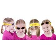 Meisjes zonnebril met naam bedrukt