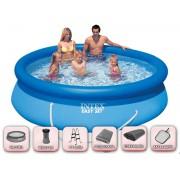 Надуваем басейн Intex 305 x 76 см - SUPER пакет