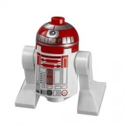 LEGO Star Wars minifigure Astromech Red Droid from V-Wing Starfighter (75039)