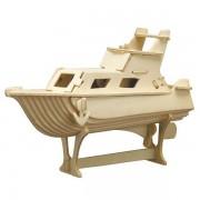 Puzzle eco 3D din lemn Yacht Pebaro