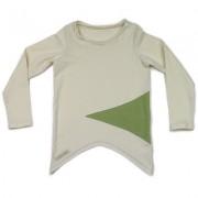 Bluza Nook (unisex) - alb murdar, 4-6 ani