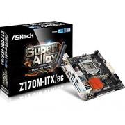 ASRock Z170M-ITX/ac Intel 1151 Scheda Madre, Nero