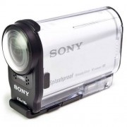 Sony Kamera sportowa SONY HDR-AS200VR + Pilot w zestawie + DARMOWY TRANSPORT! + Zamów z DOSTAWĄ JUTRO! + Rabat na akcesoria rowerowe! + Ekstra niska cena!