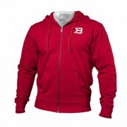 Better Bodies Men Better Bodies Jersey Hoodie Bright Red