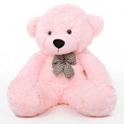 2 Feet Pink Teddy Bear with a Bow