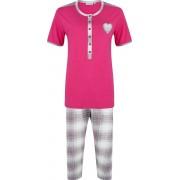 Pastunette Donker roze dames pyjama Pastunette