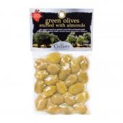 Krétské zelené olivy plněné mandlí CreTasty 150g