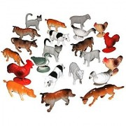 Small Set of Farm Animal's Size 2 Inch (24)