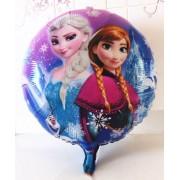 Baloane din folie cu Elsa şi Anna din Frozen