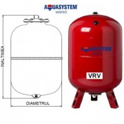 Vas de expansiune VRV 80 litri pentru incalzire