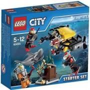 LEGO City Set de Introducción: Exploración Submarina - juegos de construcción (Multicolor)