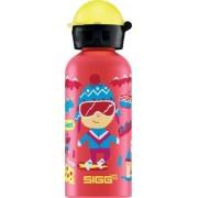 Sigg drinkbeker skivakantie rood (0,4l)