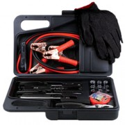 30pc Emergency Roadside Kit w/ Jumper Leads