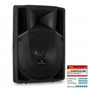 """Malone 15"""" Active PA Speaker 2 x Microphone Inputs AUX 1500W"""