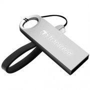 USB kľúč 16GB Transcend JetFlash 520, Silver Plating