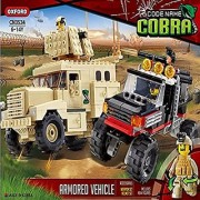 Oxford Code Name Cobra Armored Vehicles Military Lego Style Building Construction Set CN3534