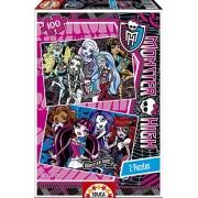 Puzzles Educa - Monster High, 2 puzzles x 100 piezas (15629)