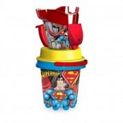 Superman kancsós homokozó készlet, 5 részes