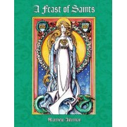 A Feast of Saints Coloring Book