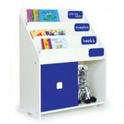 Pkolino Chalkboard Kids Bookshelf - Cobalt White