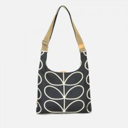 Orla Kiely Women's Stem Midi Sling Bag - Black