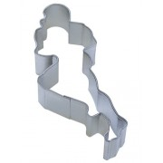 Football Player Shaped 4.5 Inch Cookie Cutter