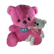 Tickles Cute Me And My Pink Teddy Stuffed Soft Toys Birthday Gift Girl Boy