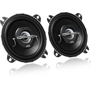 "JVC CS-J420X Altavoces coaxiales para coche (21 W RMS, 45 22000 Hz, 4"", 2 vías), negro"
