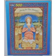 Away in the Manger Christmas Puzzle By Golden Books 500 Piece